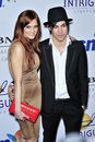 Ashlee Simpson, Pete Wentz Royalty Free Stock Photos