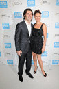 Ashley Judd,Dario Franchitti Royalty Free Stock Photography