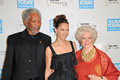 Ashley judd ellen burstyn morgan freeman and and at the usa today hollywood hero gala honoring montage hotel beverly Stock Image