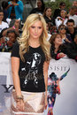 Ashley tisdale arriving at the this is it premiere nokia theater at la live los angeles ca october Stock Photo