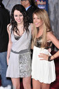 Ashley Tisdale, Hannah Montana, Miley Cyrus Stock Photos
