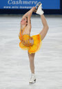 Ashley Wagner (USA) Royalty Free Stock Images