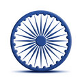 Ashoka Chakra Stock Photo