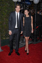 Ashton Kutcher, Demi Moore Images libres de droits