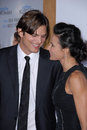 Ashton Kutcher,Demi Moore Stock Images
