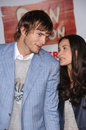 Ashton Kutcher,Demi Moore Royalty Free Stock Image