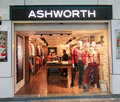 Ashworth shop in hong kong Royalty Free Stock Images