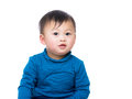 image photo : Asia baby boy portrait