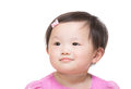 Asia baby girl Royalty Free Stock Image