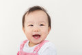 Asia baby girl smile Royalty Free Stock Photo