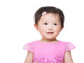 Asia baby girl smile Stock Photography