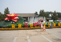 Asia China, Beijing, Old Summer Palace, Lotus Festival, theme landscape Royalty Free Stock Photo
