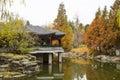Asia China, Beijing, Zhongshan Park, autumn scenery