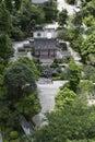 Chinese gazebo garden park Royalty Free Stock Photo