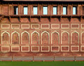 Asia India Agra red fort Stock Photo