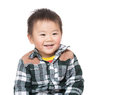 Asia little boy Stock Photos
