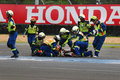 Asia Road Racing Championship 2015 Royalty Free Stock Photo