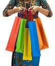 Asia shopping paradise Royalty Free Stock Image