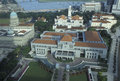 Asia singapore old parliment house the parliament at the marina bay at the river and marina bay in the city of in southeastasia Stock Image