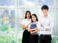 Asia students Royalty Free Stock Photo