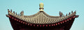 Asia temple roof Royalty Free Stock Photo