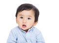 Asian baby boy isolated on white Royalty Free Stock Photos
