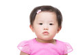 image photo : Asian baby girl