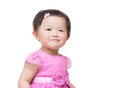 Asian baby girl smile Stock Photos