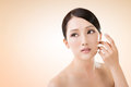 Asian beauty face Royalty Free Stock Photo