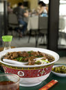 Asian Beef noodle bowl 2 Royalty Free Stock Photo