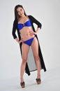 Asian Bikini Girl Royalty Free Stock Photo