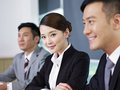 Asian business people at a meeting Royalty Free Stock Photography