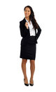 Asian business woman with glasses formal Royalty Free Stock Image