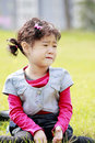 Asian child crying Royalty Free Stock Photo