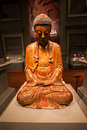 Asian civilisations museum interior singapore october buddha statue in Stock Photo