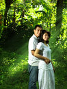 image photo : Asian couple