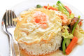 Asian cuisine fried egg rice Royalty Free Stock Photo