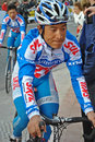 Asian cyclists Stock Image