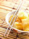 Asian dough fritters Stock Image