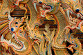 Asian dragon background Stock Photos