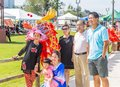 Asian Family At Ninth Annual Dragon Boat Festival Montgomery