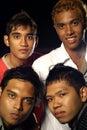 Asian four friends malay Стоковые Изображения RF