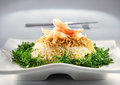 Asian Fried Rice Royalty Free Stock Photo