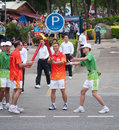 Asian Games torch relay in zhuhai Stock Image
