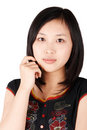 Asian girl Stock Photography