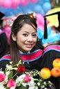 Asian graduate. Stock Photos