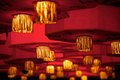 Asian lanterns Royalty Free Stock Photography