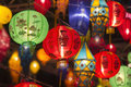 Asian lanterns in lantern festival Royalty Free Stock Image