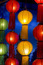 Asian lanterns in lantern festival chiangmai thailand Stock Photography