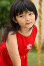 Asian Little Girl Royalty Free Stock Photo